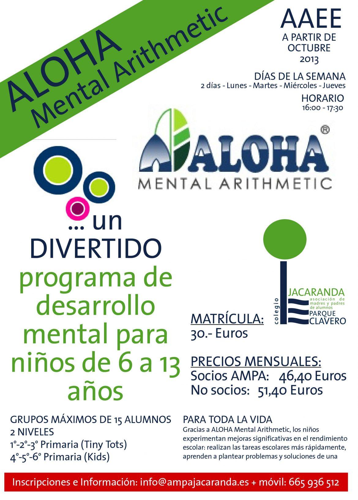 ALOHA Mental Arithmetic