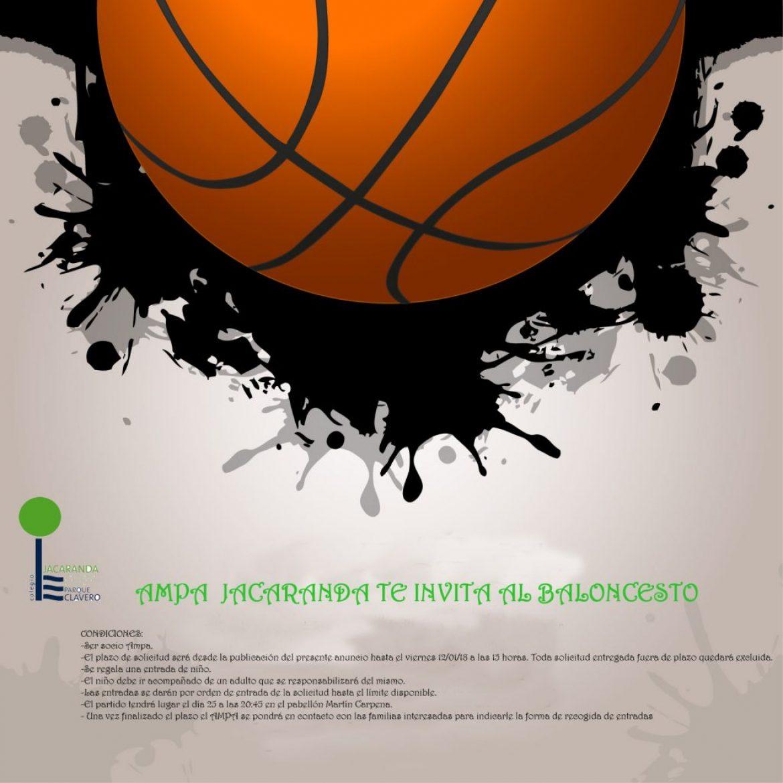 AMPA Jacaranda te invita al Baloncesto