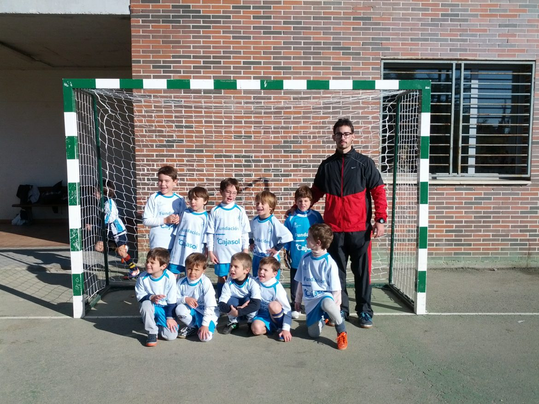 Nuestro equipo de Fútbol Sala PREBenjamín va a la final