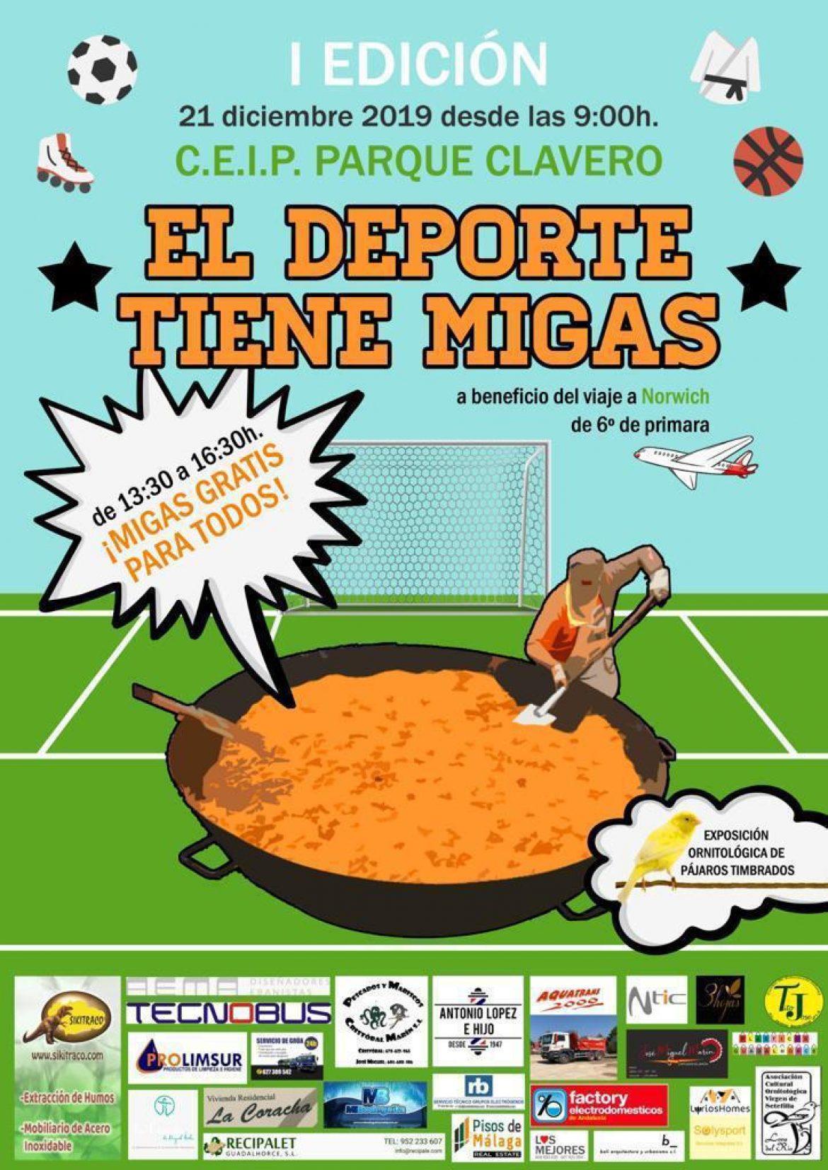 El deporte tiene Migas