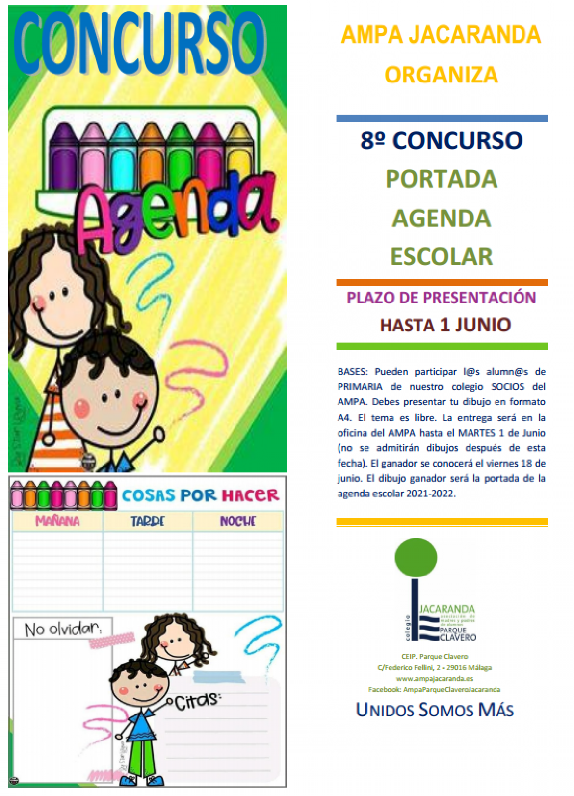 Concurso Agenda 2021-2022