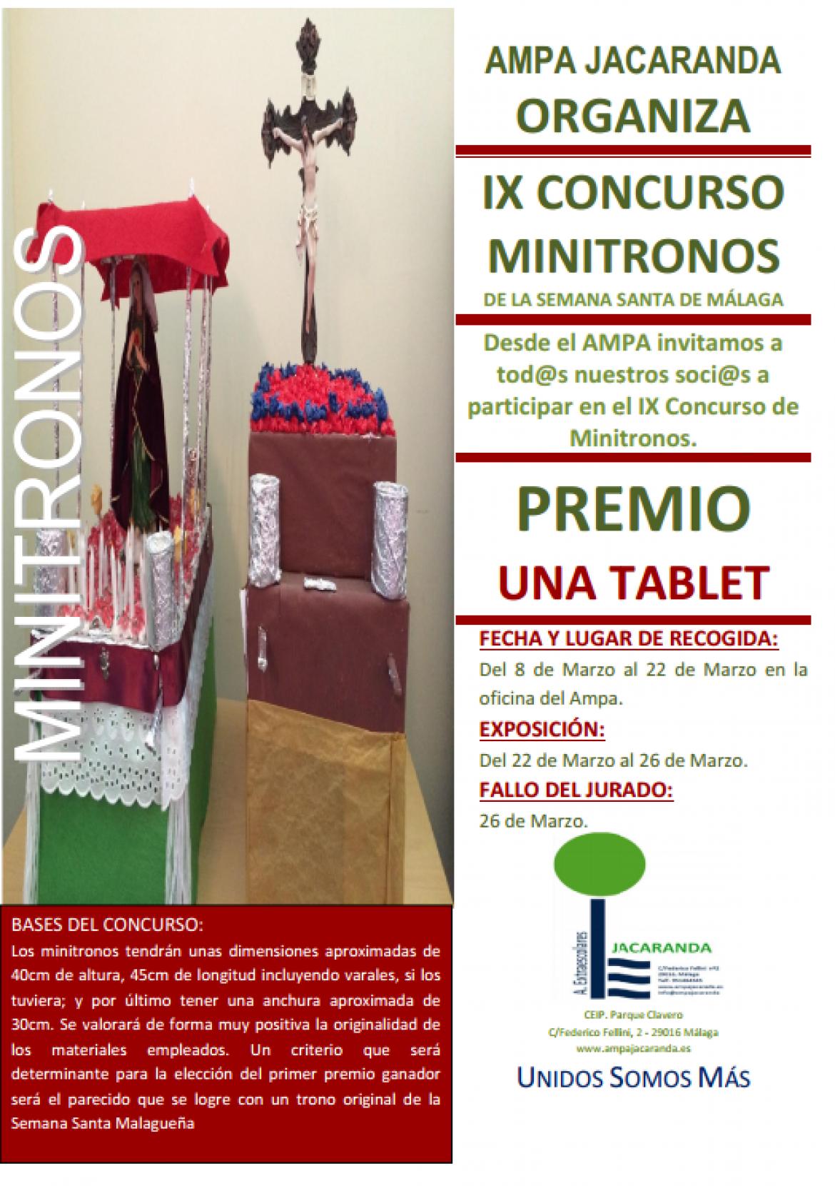 IX Concurso de MiniTronos